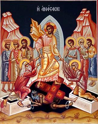 Jésus Christ est ressuscité aujourd'hui
